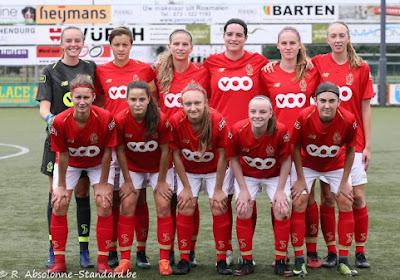 Le Standard Fémina contraint un club d'Eredivisie au partage