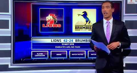 In this screengrab, Ashwin Willemse slams Nick Mallett and Naas Botha before walking off the SuperSport set. Picture:SUPPLIED