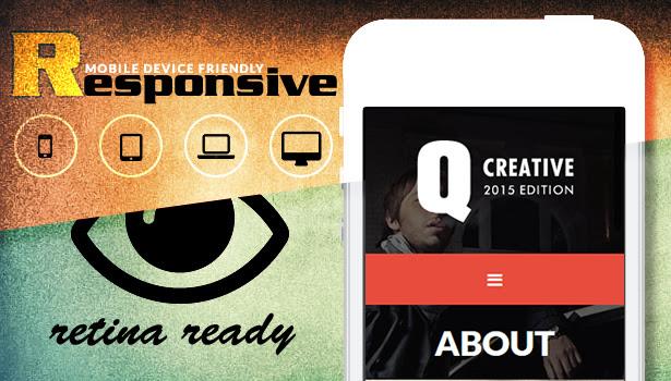 Q Creative - The HTML5 Template - 8