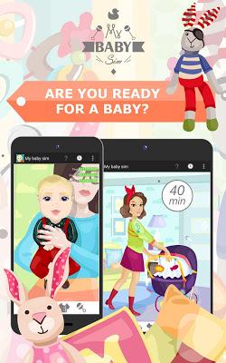 My Baby Sim - childcare game - screenshot