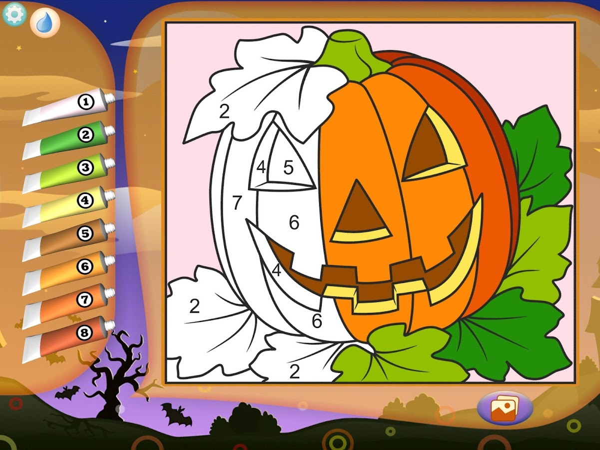 Halloween Coloring Book- screenshot