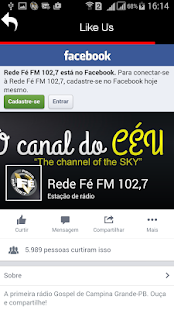 Rede Fé- screenshot thumbnail