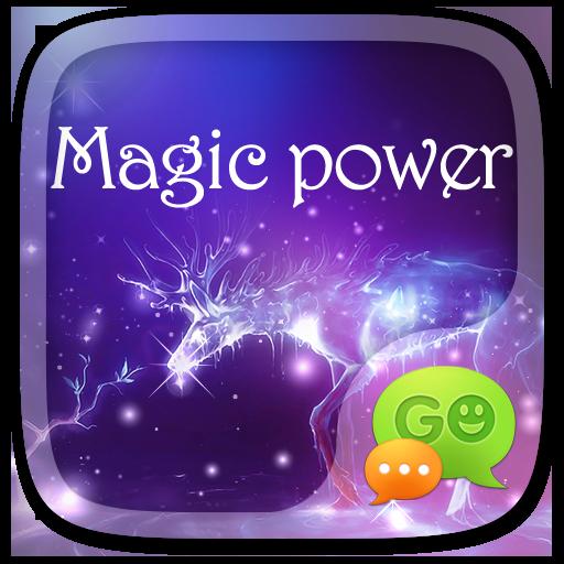(FREE) GO SMS MAGIC POWER THEME