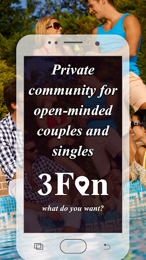 Threesome Dating Ads for Couples & Singles: 3Fan 1.0.6 screenshots 1