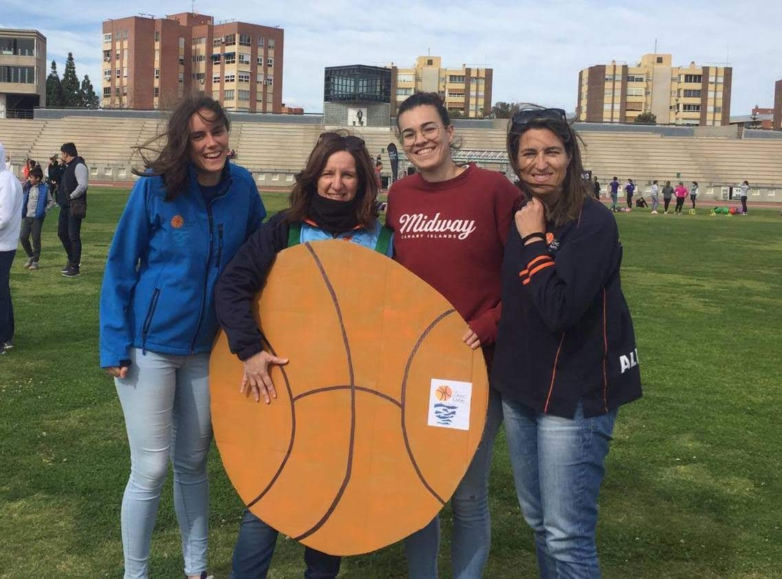 Cabo Mar en la Jornada de Deporte en Femenino