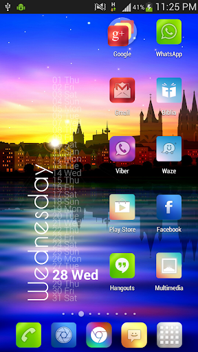 Blur Color Theme & Icon Pack 1.9 screenshots 6