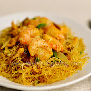 Singaporean Fried Rice Noodles.
