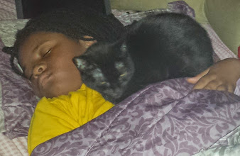 Photo: Kaleya told me that Isis sleeps with her, but really?