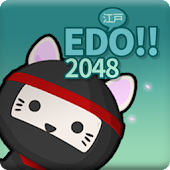 2048 Quest Age of Edo City: King of Ninja Cats
