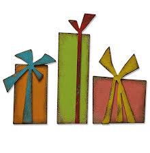 Tim Holtz Sizzix Bigz Die - Gift Wrap