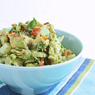 Southwestern Chicken Salad w/ Bacon & Avocado.