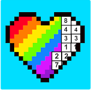 RAINBOW Color by Number - 2D & 3D Pixel Art