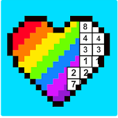 18.  RAINBOW Color by Number - 2D & 3D Pixel Art