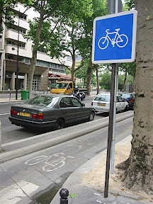 Bike Lane in Paris