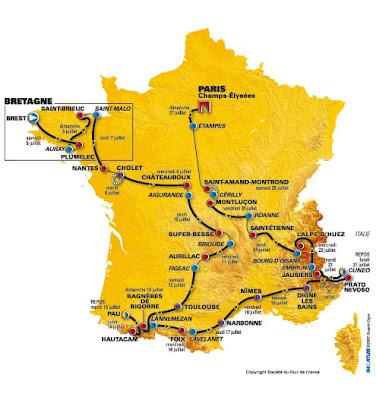 Tour de France 2008 - The Tour 2008