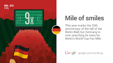 Photo: Germany is moving forward from the past ... and possibly to #WorldCup history. http://goo.gl/Fxad0A #GoogleTrends