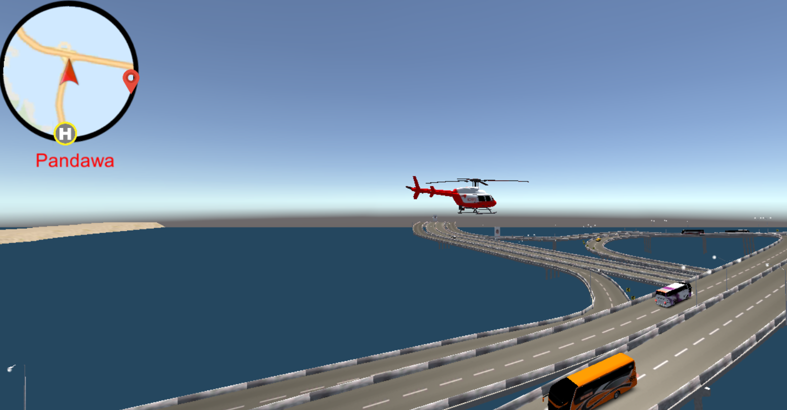 IDBS Helicopter: captura de tela