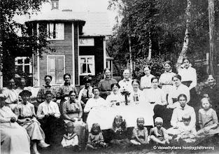 Photo: Säfenlund omkring 1910