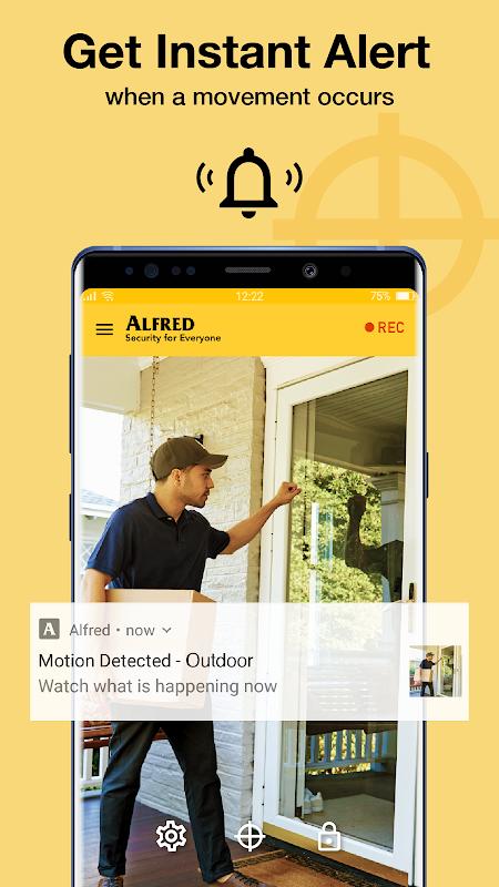 Alfred Home Security Camera screenshots