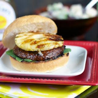Teriyaki, Pineapple Mushroom Burgers