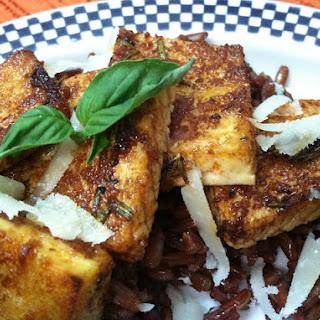 Crispy Italian Baked Tofu