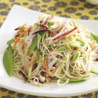 Asian Angel Hair Pasta Salad Recipes