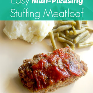 Easy Man-Pleasing Stuffing Meatloaf