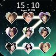 Lock screen photo