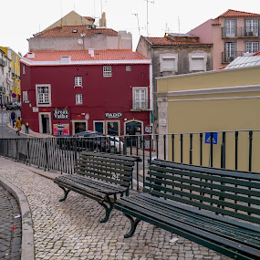 Alfama-Lisboa by Zulmira Relvas - City,  Street & Park  Historic Districts (  )