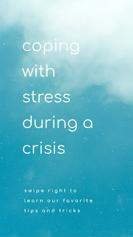 Coping with Stress - Instagram Story item