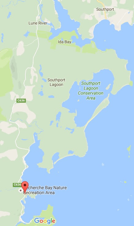Map of Southern Tasmania Heritage Sites