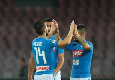 Napoli komt niet verder dan een 1-1 tegen Lazio
