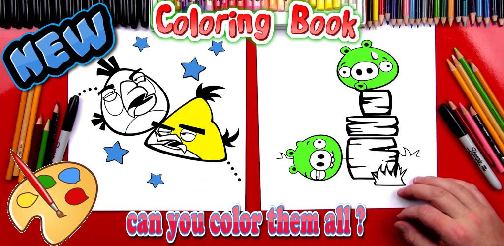 Descargar Libro de colorear de pájaro enojado para niños - Gratis ...