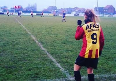 Les débuts de Charlotte Crauwels avec l'équipe A de Malines