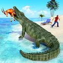Animal Attack Simulator - Crocodile Games offline icon