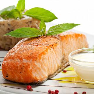 Easy Wasabi Salmon