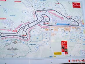 Photo: Aktueller Streckenplan Grand Prix Strecke!