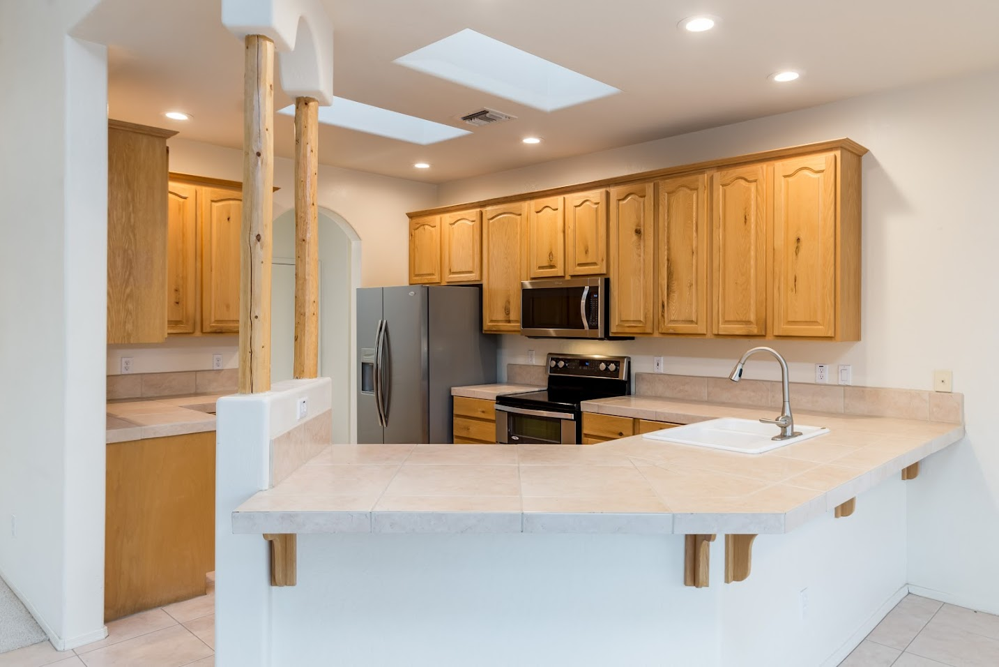 view of kitchen in Carefree home for sale