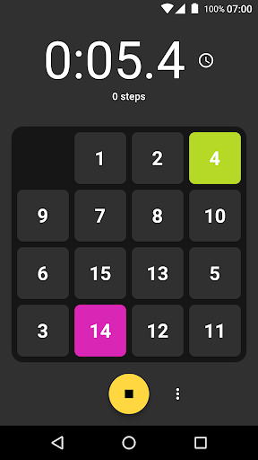 Game of Fifteen: 15-puzzle with Flutter screenshot 1