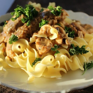 Country Fried Beef Stroganoff