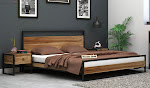 Get an awesome discount of up to 55% on all cots at Wooden Street
