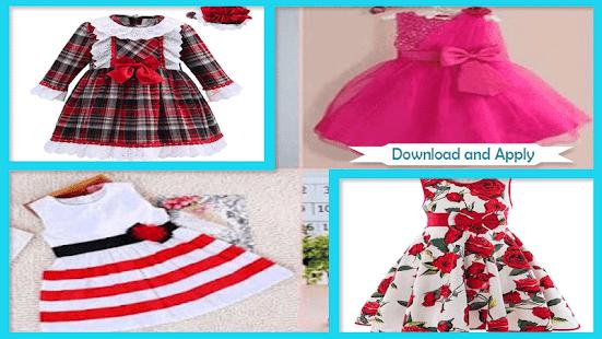 Girl Frock Designs - náhled