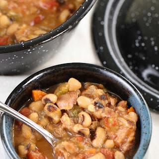 Ninja Cooking and Jalapeño Black-Eyed Peas