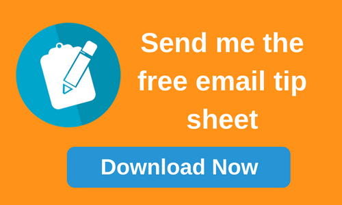 Send me the free email tip sheet