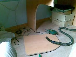Photo: Dandole un vocado al mueble para ganar ergonomia-desde mi Nokia E61i