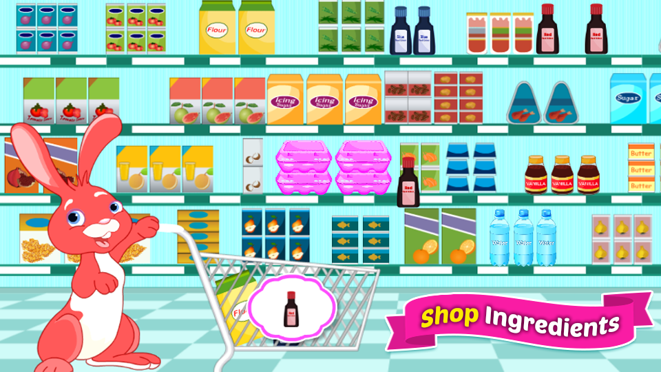 Bake Cupcakes - Cooking Games- screenshot
