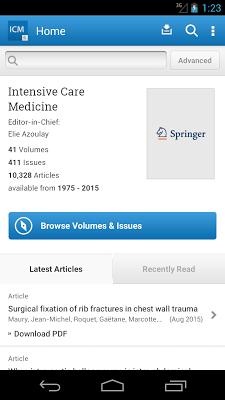 Intensive Care Medicine - screenshot