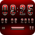 MAGNOLIA Digital Clock Widget icon