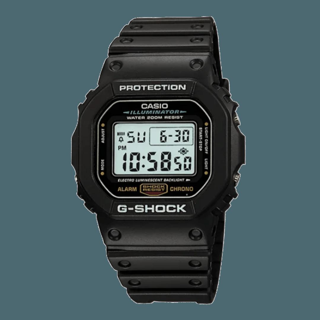 Digital watch style - A Casio G-Shock DW5600E-1