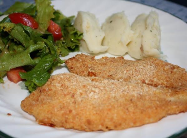 Baked Breaded Fish Fillets Recipe